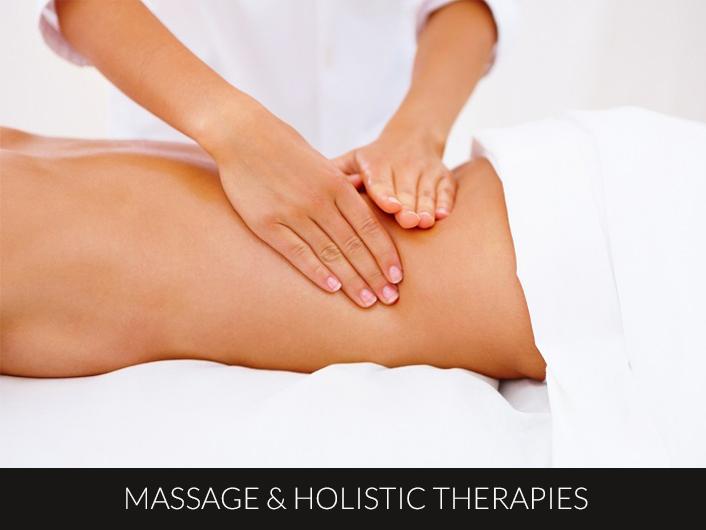massage holistic therapies sml